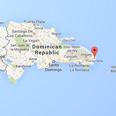 World Map Punta Cana.Punta Cana Sunlovers